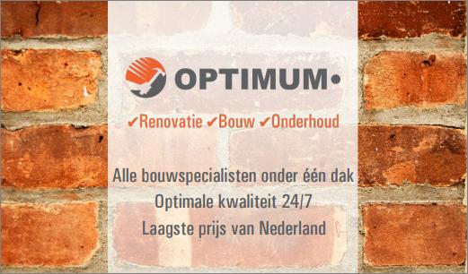 OPTIMUM Renovatie, bouw & vastgoedonderhoud Zoetermeer